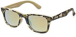 Scavin  Wayfarer Sunglasses (Green) (215S908COSMOSYLW|50)
