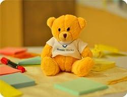 Cute Teddy Bear Mouse Pad by Shopmillions