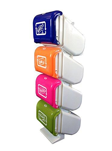 Outlook design v3z0500012 totem contenitore per raccolta - Contenitori raccolta differenziata casa ...