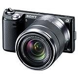 SONY デジタル一眼カメラ α NEX-5N ズームレンズキット ブラック NEX-5NK/B