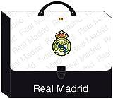 Real Madrid - Maletín de cartón, 35 x 27 cm (Safta 511557694)
