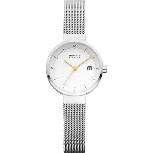 Bering Solar 14426-001 Stainless Steel Ladies Watch Bracelet Sapphire Crystal