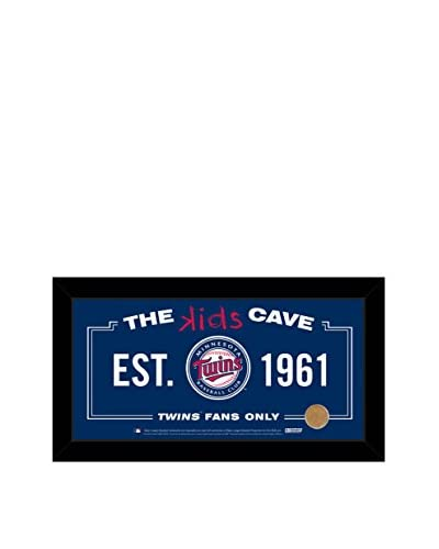 Steiner Sports Minnesota Twins Kids Cave Sign with Game-Used Dirt From Target Field