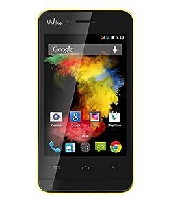 Wiko GOA Smartphone débloqué 3G+ (Ecran : 3.5 pouces - 4 Go - Android 4.4 KitKat) Jaune