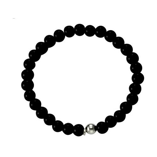 stretch-kisma-bijoux-bracelet-et-achat-noir-longueur-totale-17-cm-en-argent-sterling-925-kia-0124-01