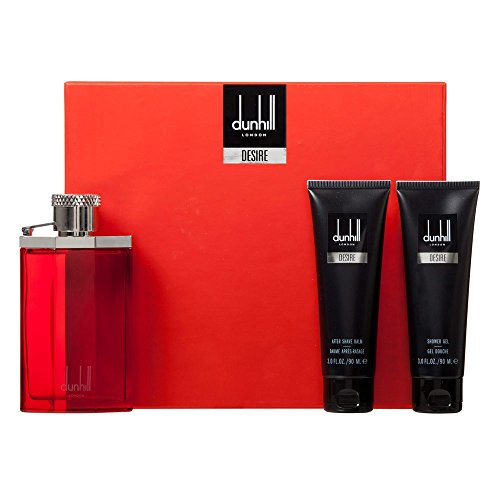 Alfred Dunhill Desire London 3-Piece Gift Set for Men by Alfred Dunhill