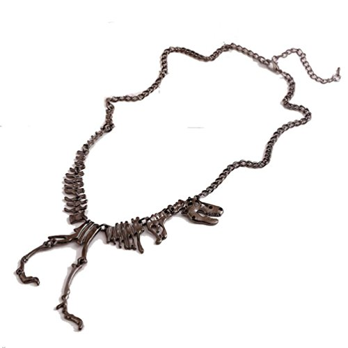 Voberry-Steampunk-Goth-Alloy-Dinosaur-Skeleton-Dead-Tyrannosaurus-T-Rex-Charm-Necklace