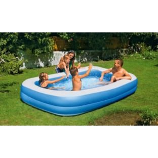 high-quality-chad-valley-family-swim-centre-rectangular-950-litre-pool-summer-fun-by-onlinediscounts