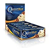 Quest Nutrition Protein Bars, Vanilla Almond Crunch (Pack of 12)
