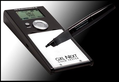 Tri Electronics Gxl-Next Gold Silver And Platinum Tester From 6-24K And 1000+ Tests Per Cartridge
