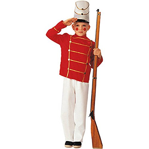 Wooden Toy Soldier Kids Costume
