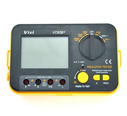 Samyo Vc60B+ Digital Insulation Resistance Tester Megger Megohmmeter Megohm Dcv Acv Meter