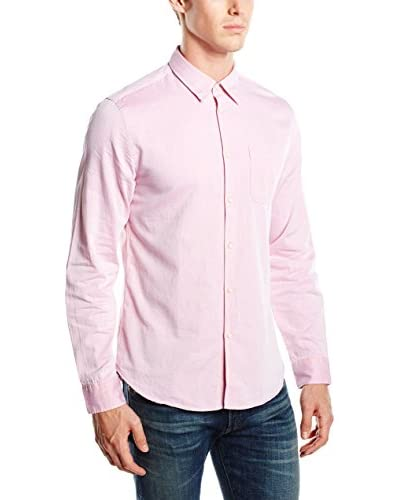 Springfield Camisa Hombre Herringbone Solid