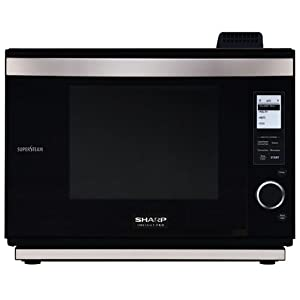 Sharp AX-1200K SuperSteam Multi-Purpose Oven, Black