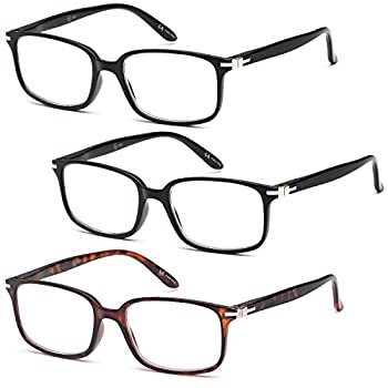 AV Best Deal Multiple Packs of Fashion Readers Reading Glasses for Men and Women