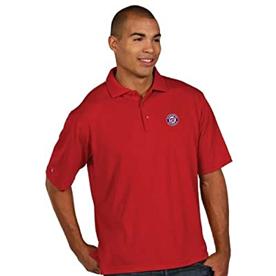 Washington Nationals Pique Xtra Lite Polo Shirt (Alternate Color)