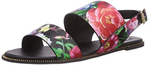Steve Madden SANDDY, Sandali donna Multicolore Mehrfarbig (Floral Multi) 38