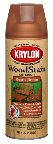 krylon-k03603000-exterior-semi-transparent-wood-stain-12-ounce-rustic-brown