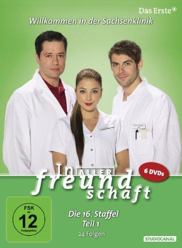In aller Freundschaft - Die 16. Staffel, Teil 1, 24 Folgen [6 DVDs]