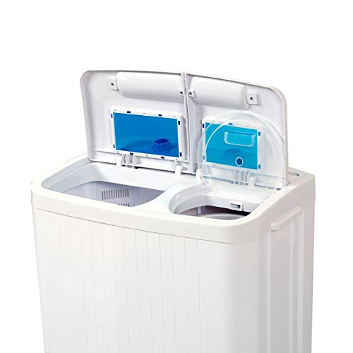 stark electric small mini portable compact washer washing machine 45l washer