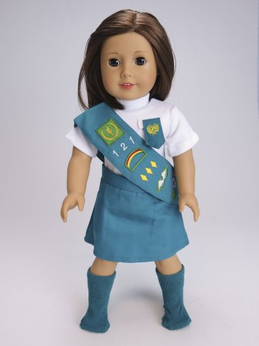 """18"""" Junior Girl Scout Outfit"""