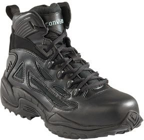 e79220d6a293 Converse C8678 Men s Stealth Swat 6-inch Boot with Side Zipper Soft Toe  Black 14