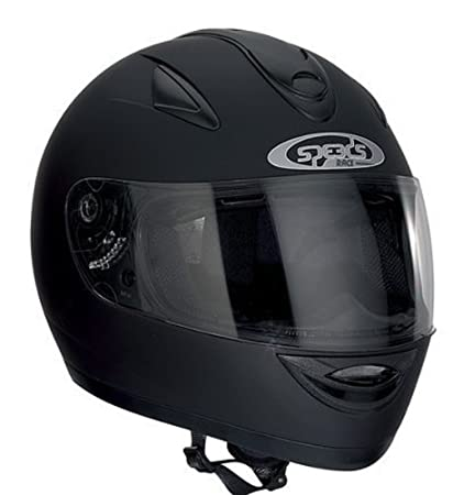Speeds intégral race uni-noir mat-dimensions de casque :  m-57/58