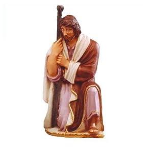 Statua in resina san giuseppe per presepe da cm 30 - Statue da giardino in resina ...