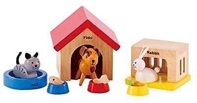 Hape - Happy Family Doll House - Family Pets from Hape