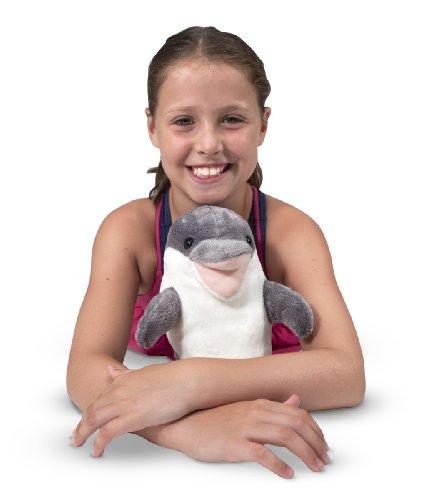 Melissa & Doug Skimmer Dolphin Stuffed Animal