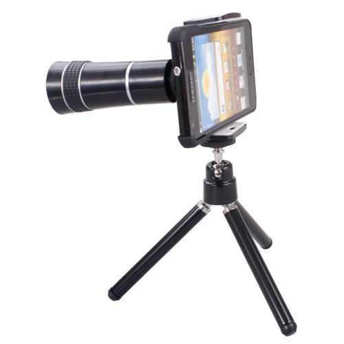 10X Zoom Telescope Camera Lens With Mini Tripod + Protective Case For Samsung Galaxy S2 I9100