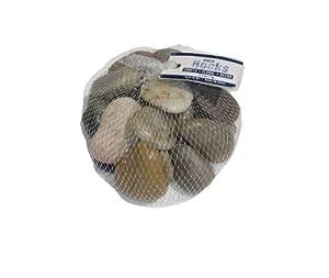 WeGlow International Natural River Rocks 2lbs (2 packs)