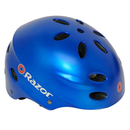 Razor Aggressive Youth Multi-Sport Helmet (Satin Blue)