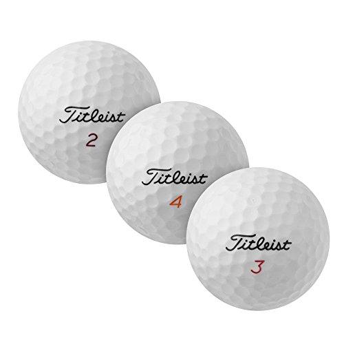 PearlGolf 100 Titleist Mix - AAA - weiß - Lakeballs - gebrauchte Golfbälle