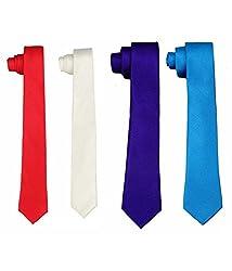 Greyon Multicolor Micro Fiber Formal Regular Tie (GNA030)