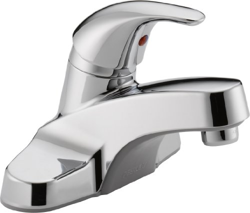 Peerless P131LF Classic Single Handle Lavatory Faucet, Chrome