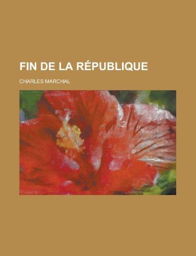 Fin de La Republique