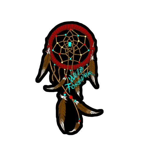Hot Leathers Dream Catcher Ladies Patch (6