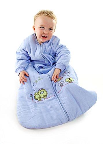 Winter Baby Sleep Sack Long Sleeves 2.5 Tog Choo Choo 12-36 months LARGE