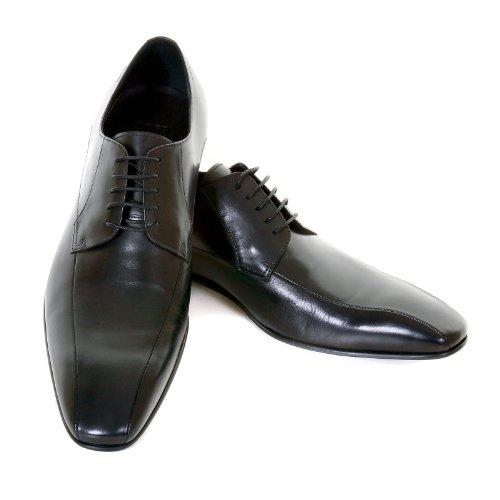 Hugo Boss Black Label Mens Metrio 50237738 Black Leather Badger Shoes Boss0927