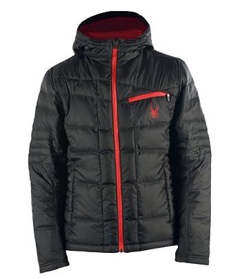 Buy Spyder Dolomite Hoody Down Jacket Black Volcano XXL by Spyder
