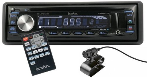 In Phase Ips249bt 4x 60w Tooth Car Stereo System Review Archives