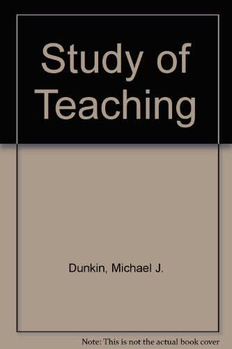 The Study of Teaching