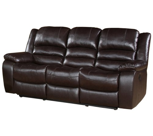 Miraculous Abbyson Living Dallas Italian Leather Reclining Sofa Gmtry Best Dining Table And Chair Ideas Images Gmtryco