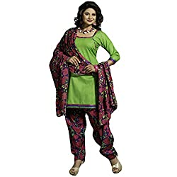 Typify Women's Cotton Unstitched Dress Material (TYPIFY243_Multicolor_Free Size)