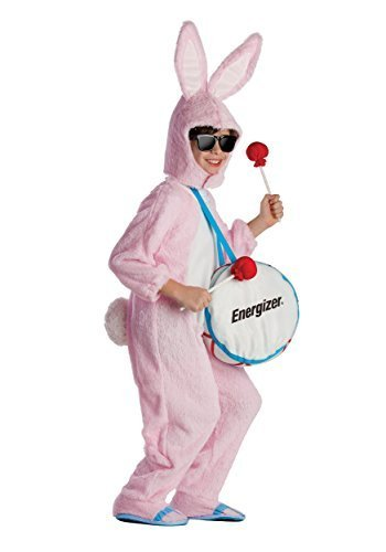 [Energizer Bunny Mascot Costume - Size Small 4-6 by Dress Up America] (Energizer Bunny Costumes)