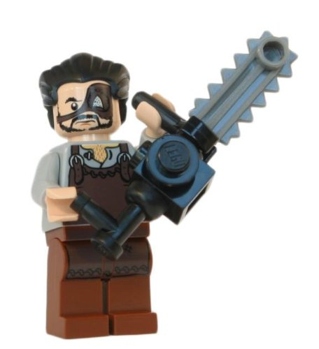 Leatherface - LEGO Texas Chainsaw Massacre Minifigure with Chainsaw