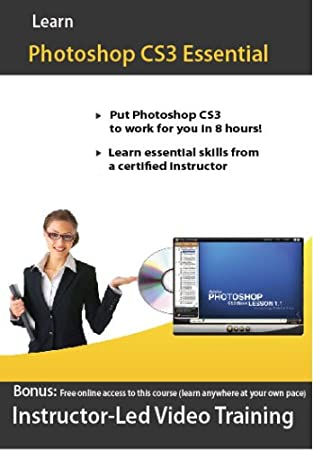 Adobe Photoshop CS3 Video Training Course for Beginner