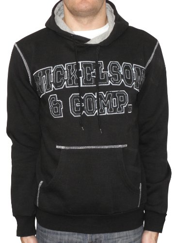 Nickelson NMF0026 Men's Hoody Black Large