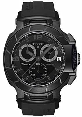 Tissot T Race Chronograph Black Dial Men's Watch - T048.417.37.057.00 by Tissot